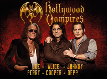 Hollywood Vampires feat. Johnny Depp, Alice Cooper, Joe Perry